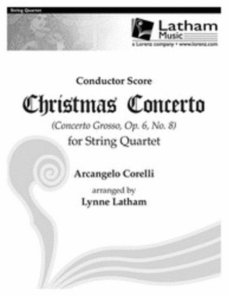 Christmas Concerto for String Quartet - Score