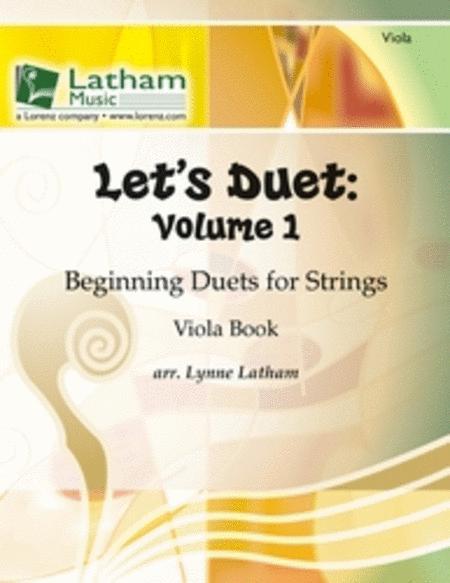 Let's Duet: Volume 1 - Viola Book