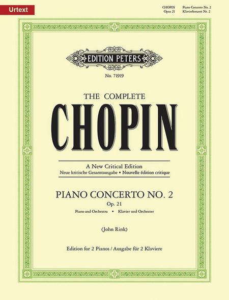 Piano Concerto No. 2 in F Minor Op. 21