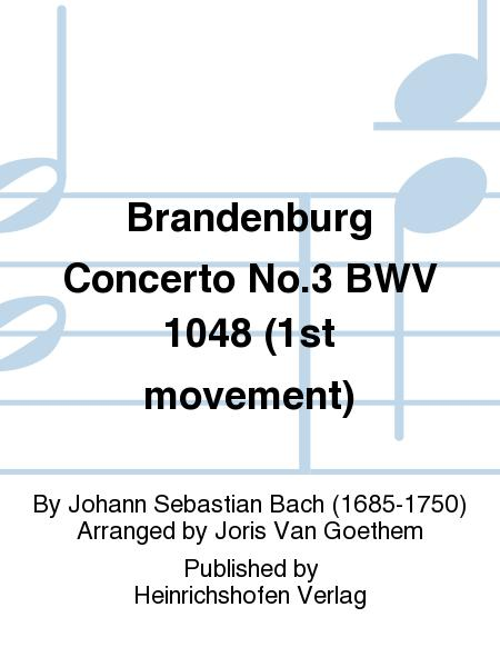 Brandenburg Concerto No. 3 BWV 1048 (1st movement)
