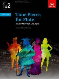 Time Pieces for Flute Vol. 1 (2014-17)