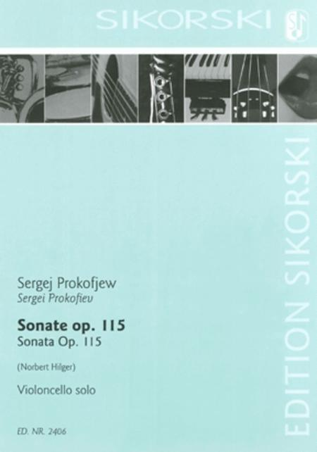 Sonata, Op. 115