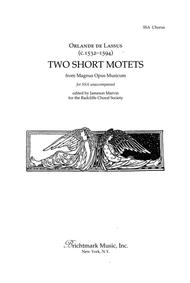Two Short Motets