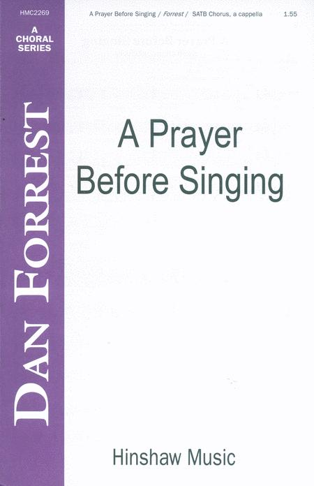 A Prayer Before Singing