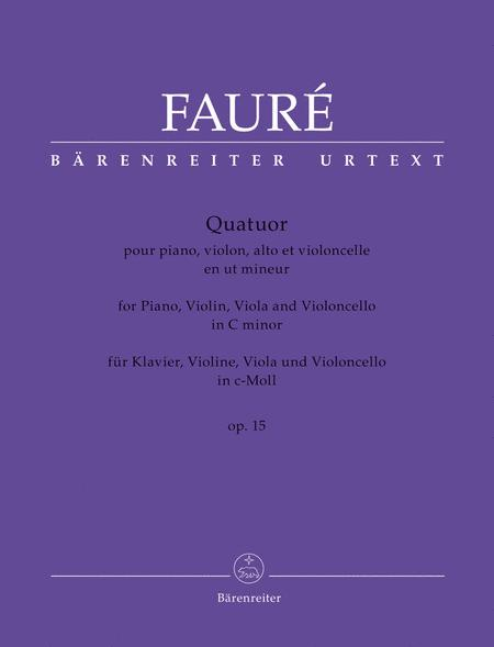 Quatuor c minor op. 15