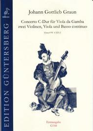 Concerto C-Dur, Erstausgabe