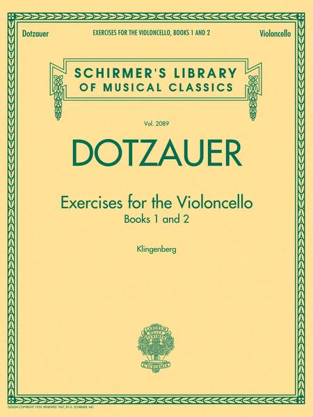 Exercises for the Violoncello - Books 1 and 2