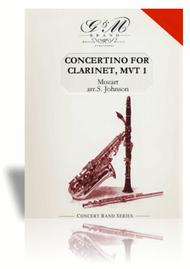 Concertino for Clarinet, Mvt. I
