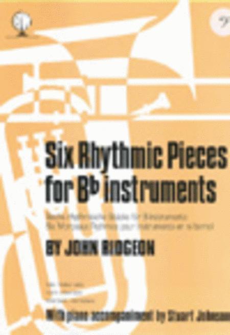 Six Rhythmic Pieces (Bass Clef)