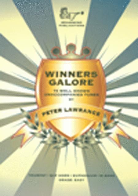 Winners Galore (Trumpet/Trombone/Euphonium, Treble Clef with CD)