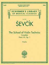 The School of Violin Technics Complete, Op. 1