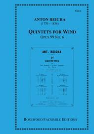 Wind Quintet, Op. 99, No. 6