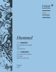 Trumpet Concerto in E major - Version in Eb major
