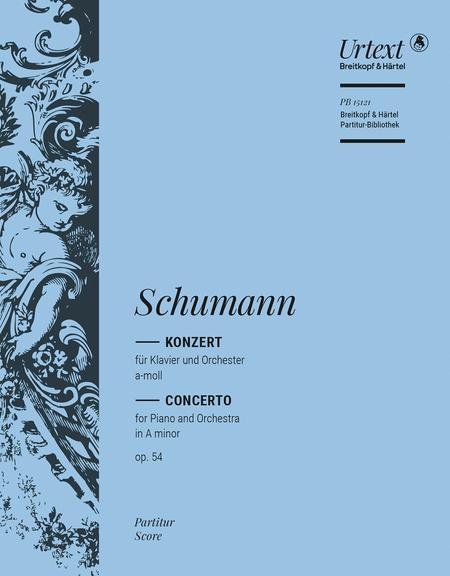 Piano Concerto in A minor Op. 54
