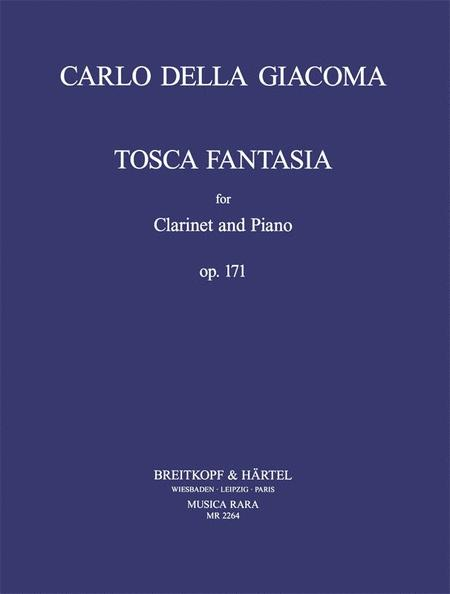 Tosca Fantasia fur Klarinette und Klavier op. 171