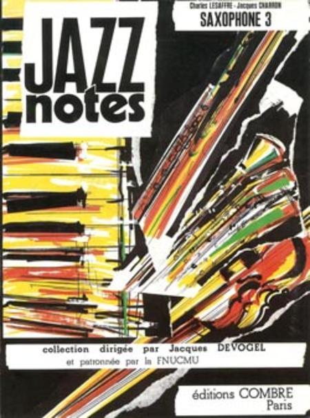 Jazz Notes Saxophone 3: Blue lullaby - Berry blues