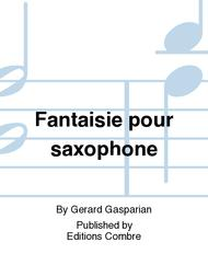 Fantaisie pour saxophone
