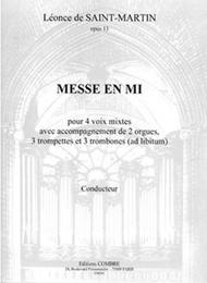 Messe en Mi Op. 13