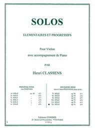 Solo elementaire et progressif No. 12 Op. 70 No. 6