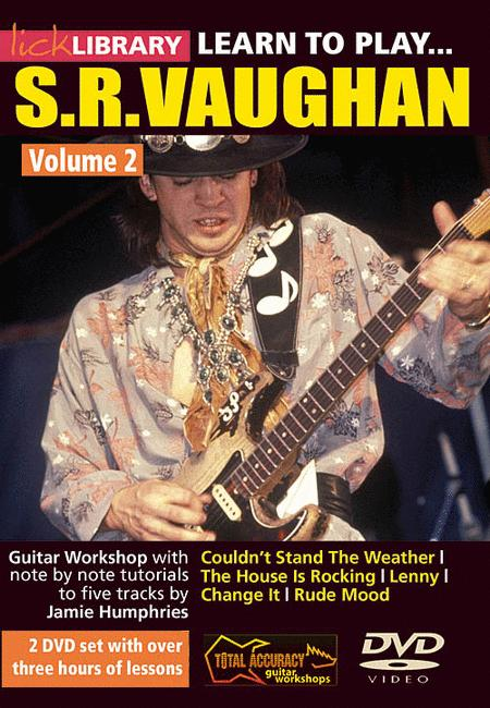 Learn to Play Stevie Ray Vaughan Guitar Technique