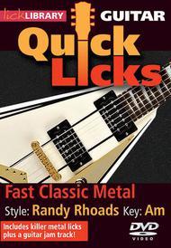 Fast Classic Metal - Quick Licks