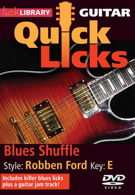Guitar Quick Licks - Blues Shuffle