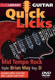 Mid Tempo Rock - Quick Licks