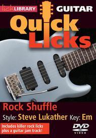Rock Shuffle - Quick Licks