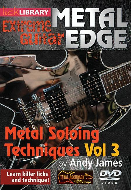 Metal Soloing Techniques, Volume 3