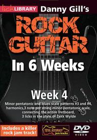 Danny Gill's Rock Guitar in 6 Weeks