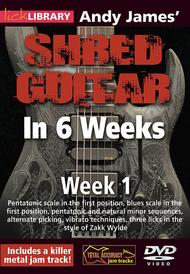 Andy James' Shred Guitar in 6 Weeks