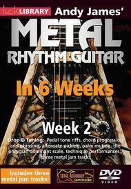 Andy James' Metal Rhythm Guitar in 6 Weeks