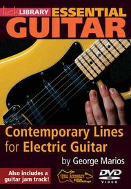 Contemporary Lines for Electric Guitar