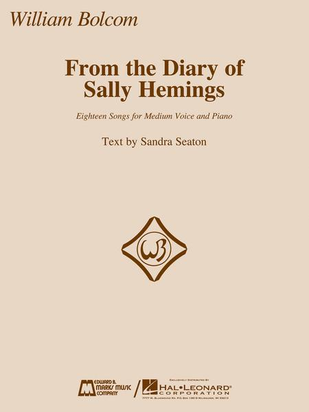 From the Diary of Sally Hemings