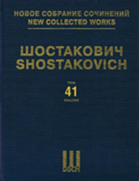 Piano Concerto No. 2, Op. 102 Piano Score New Collected Works Vol. 41 (ncw41)