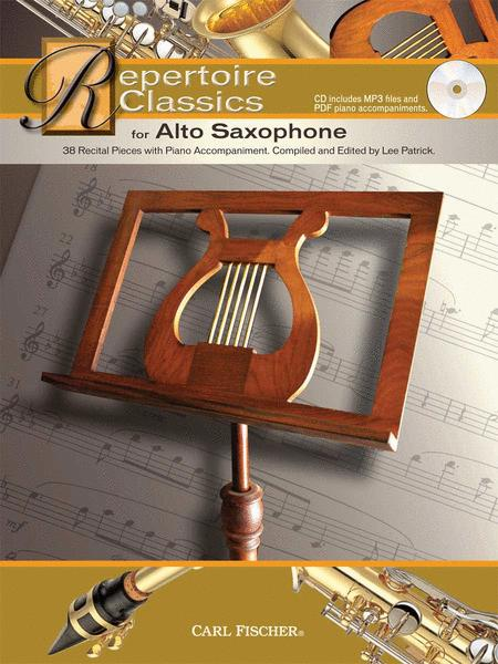 Repertoire Classics for Alto Saxophone