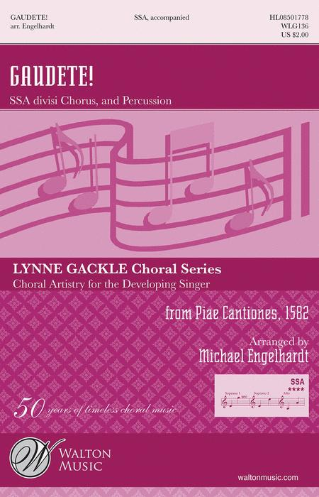 Gaudete! - SSA (Vocal Score)