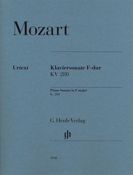 Piano Sonata in F Major K280 (189e)