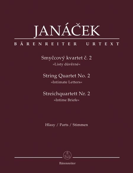 Smyccovy kvartet c. 2 No. 2 'Listy duverne'