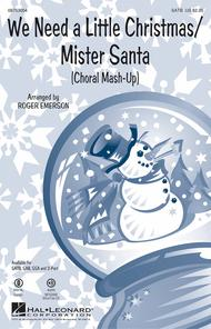 We Need a Little Christmas/Mister Santa - ShowTrax CD