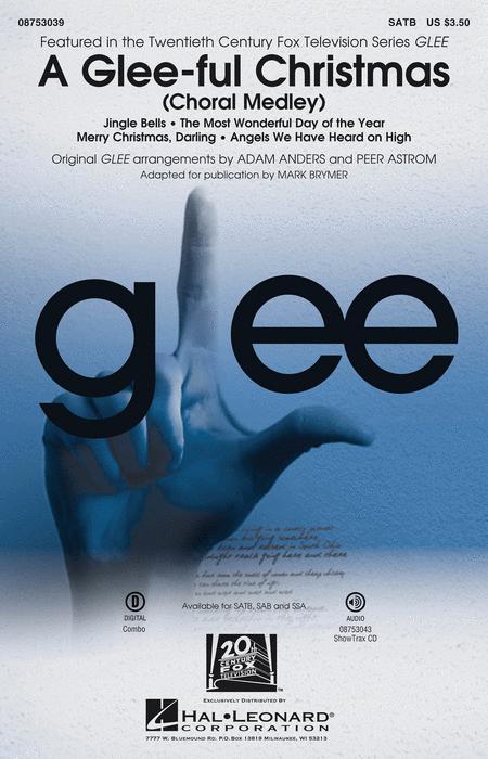 A Glee-ful Christmas - ShowTrax CD