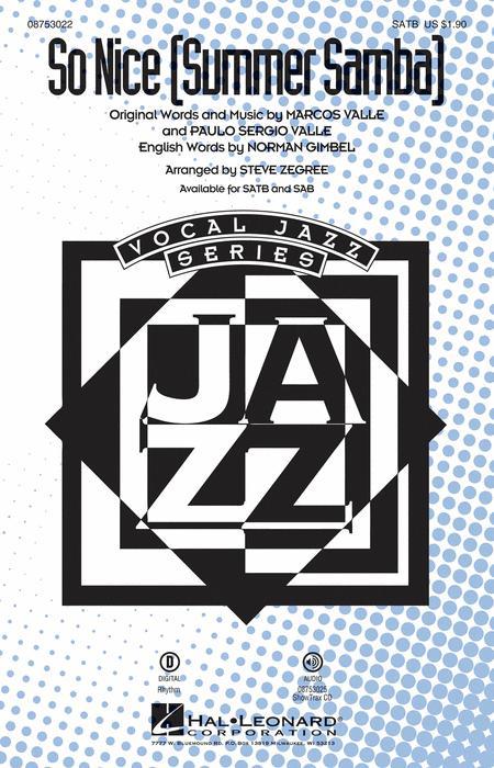 So Nice (Summer Samba) - ShowTrax CD