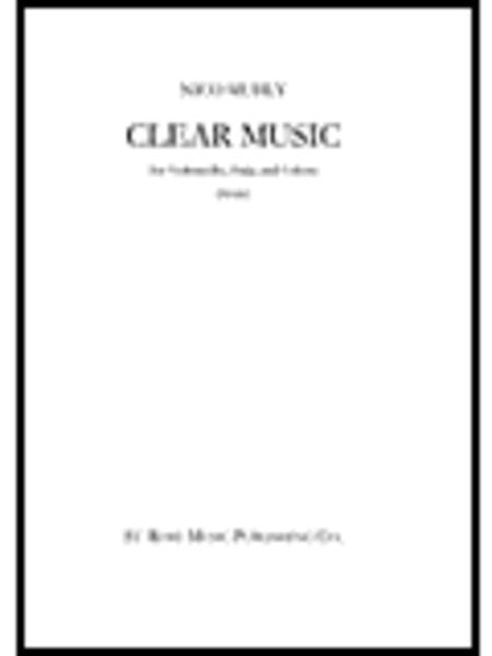Nico Muhly: Clear Music