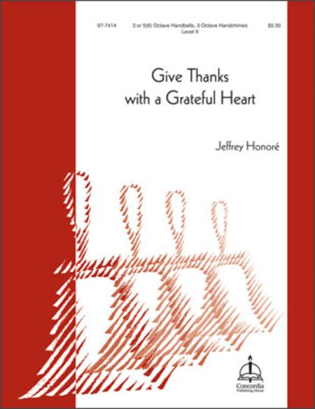 Give Thanks With A Grateful Heart Sheet Music By Jeffrey Honore