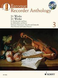 Baroque Recorder Anthology Vol. 3
