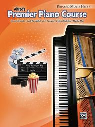 Premier Piano Course Pop and Movie Hits, Book 4