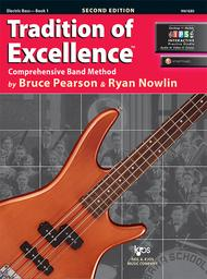 Tradition of Excellence Book 1 - Electric Bass