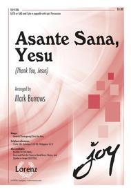 Asante Sana, Yesu (Thank You, Jesus)