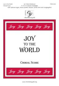 Joy to the World - Choral Score