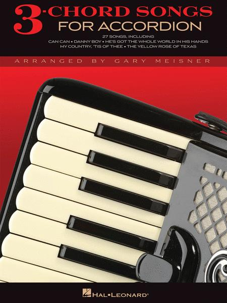 3-Chord Songs for Accordion
